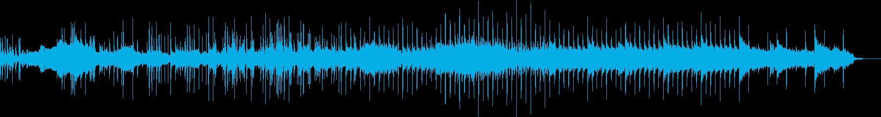 琴の音色が印象的な日本風BGMの再生済みの波形