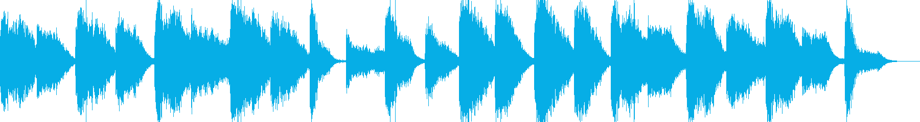 近未来的で神秘的なBGM の再生済みの波形