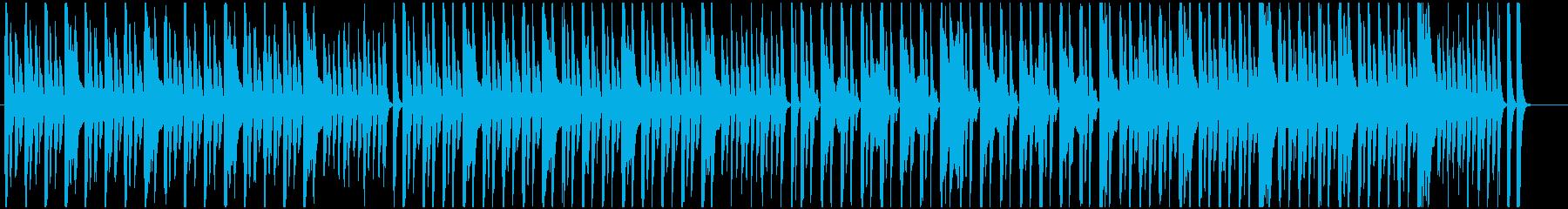 可愛いほのぼのBGMの再生済みの波形