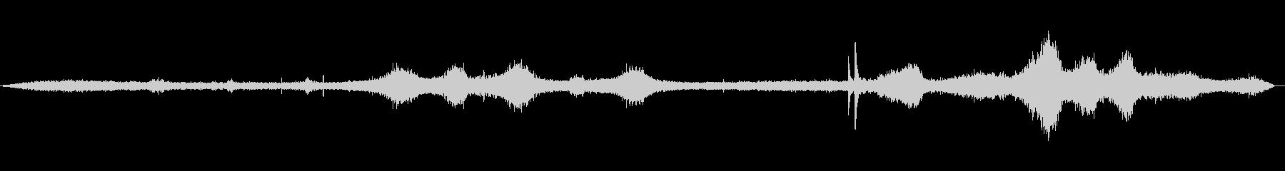 道路の音(環境音)01の未再生の波形