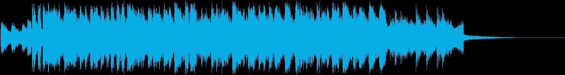 スカ・トランペット・盛り上がる・賑やかの再生済みの波形