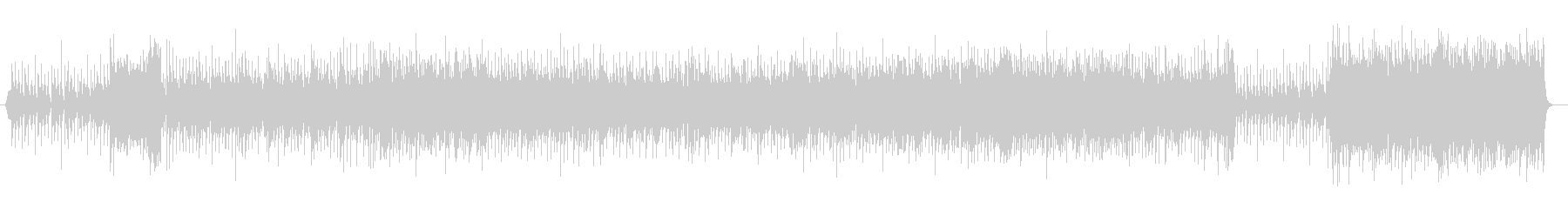 元気の出るポップス(ホーン・セクション)の未再生の波形