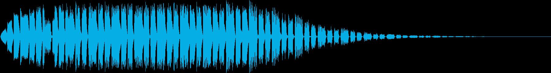 【ゲーム・アプリ】FX_04 WARPの再生済みの波形