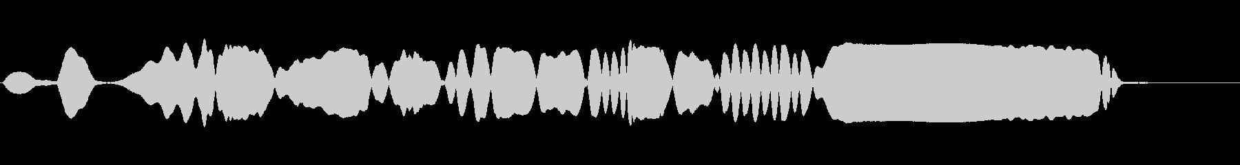 THEREMIN:ウェーブアクセン...の未再生の波形