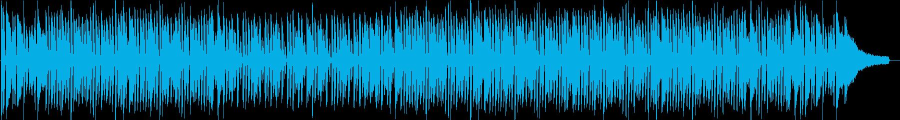 「ジングルベル」ジャズバージョンの再生済みの波形
