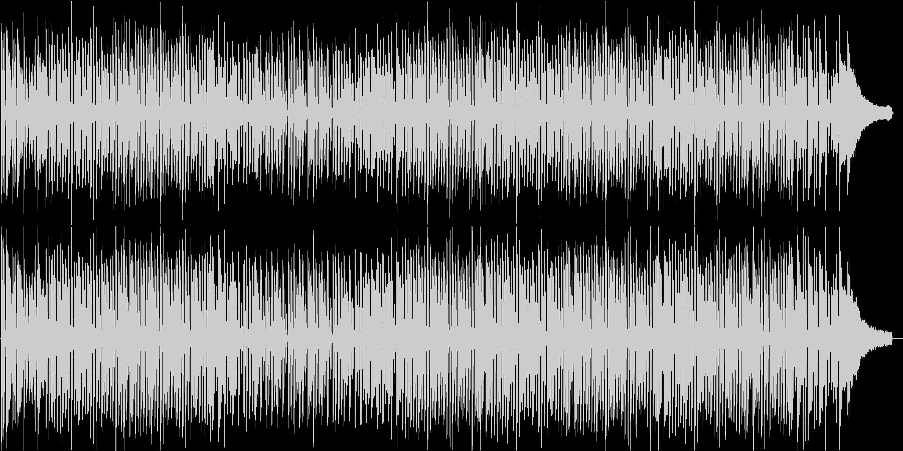 「ジングルベル」ジャズバージョンの未再生の波形