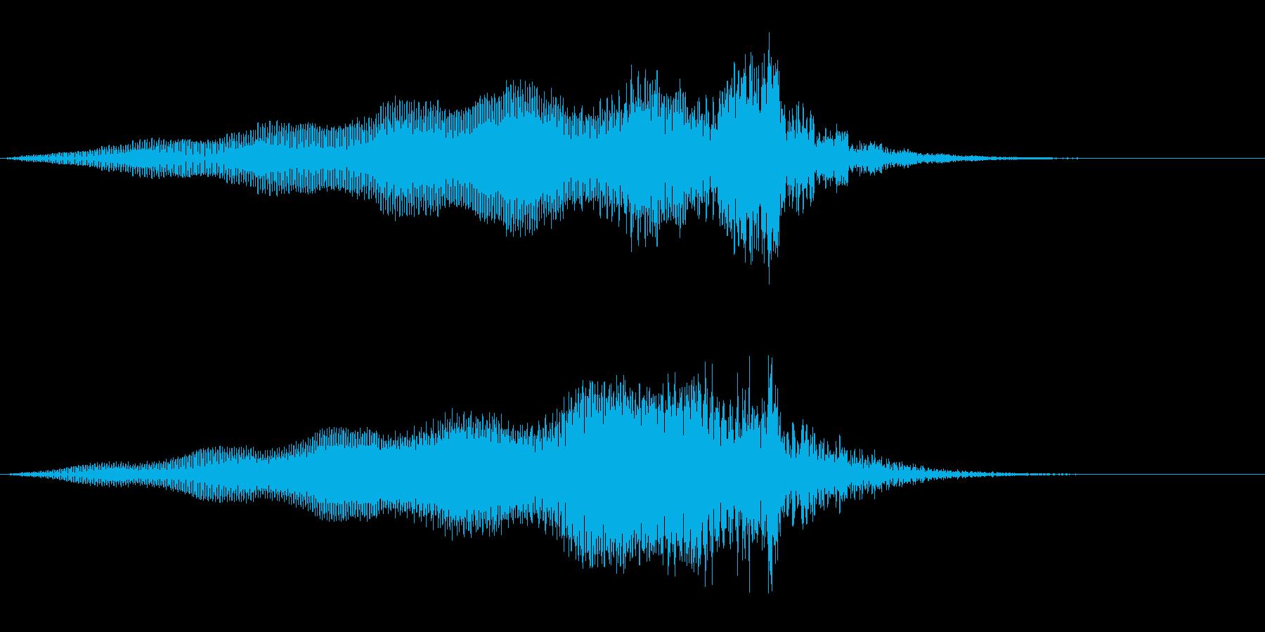 Dark_ホラーで怪しく神秘的-10の再生済みの波形