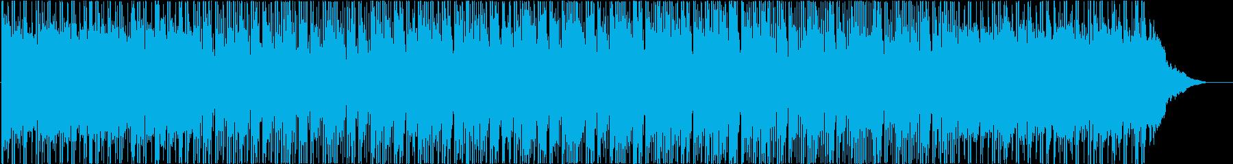 ポジティブ、ヒップホップ、背景の再生済みの波形
