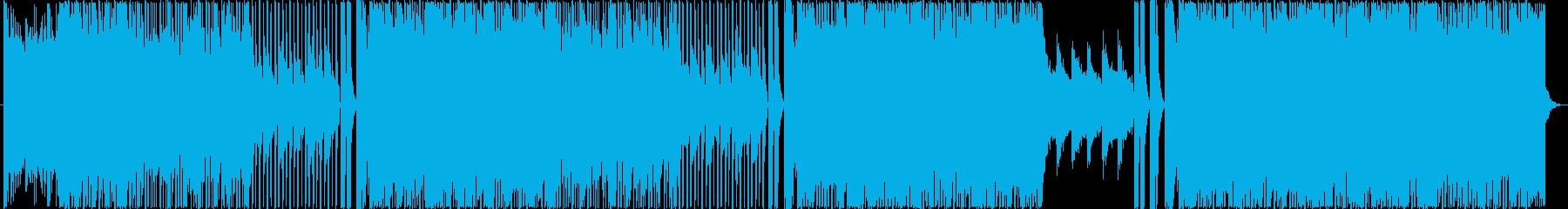 マイケル・ジャクソン系 ダークファンクの再生済みの波形