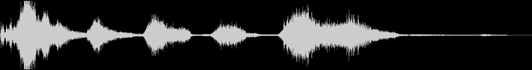 EXT:開始、REVSを使用したア...の未再生の波形