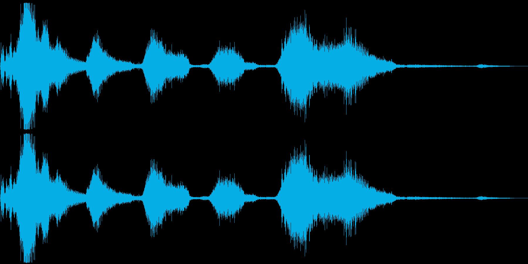 EXT:開始、REVSを使用したア...の再生済みの波形