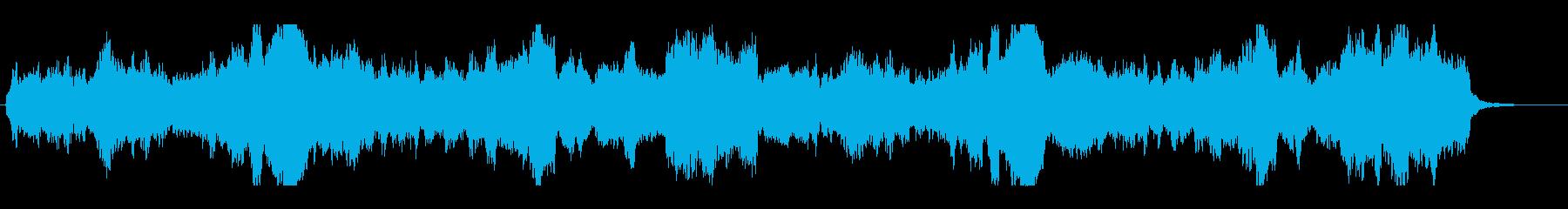 ♪弦楽四重奏。重く、深く、幻想的な旋律の再生済みの波形