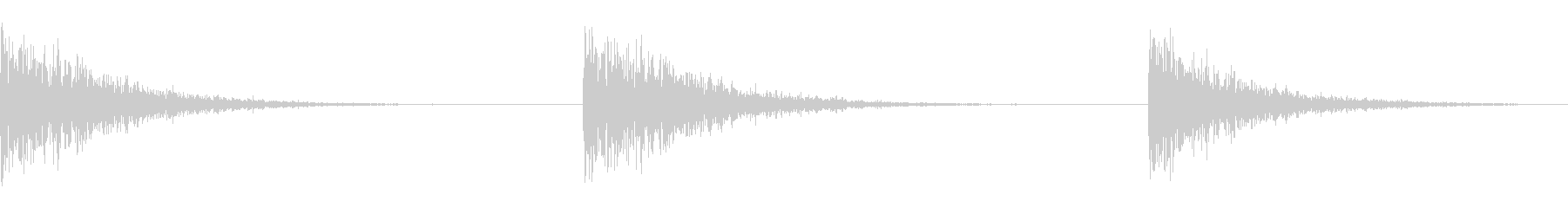 エクスプロージョン4スリーロースパークスの未再生の波形