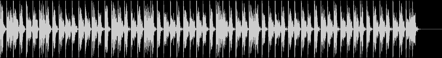 【エレクトロニカ】ロング5、ジングル3の未再生の波形
