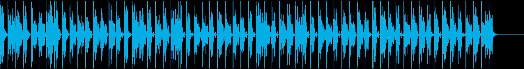 【エレクトロニカ】ロング5、ジングル3の再生済みの波形