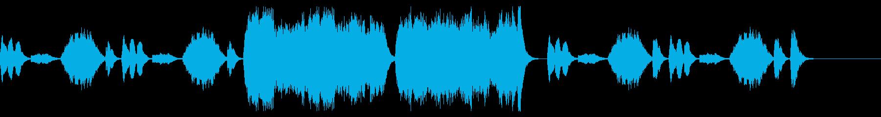 可愛らしくてほのぼのとした管弦楽BGMの再生済みの波形