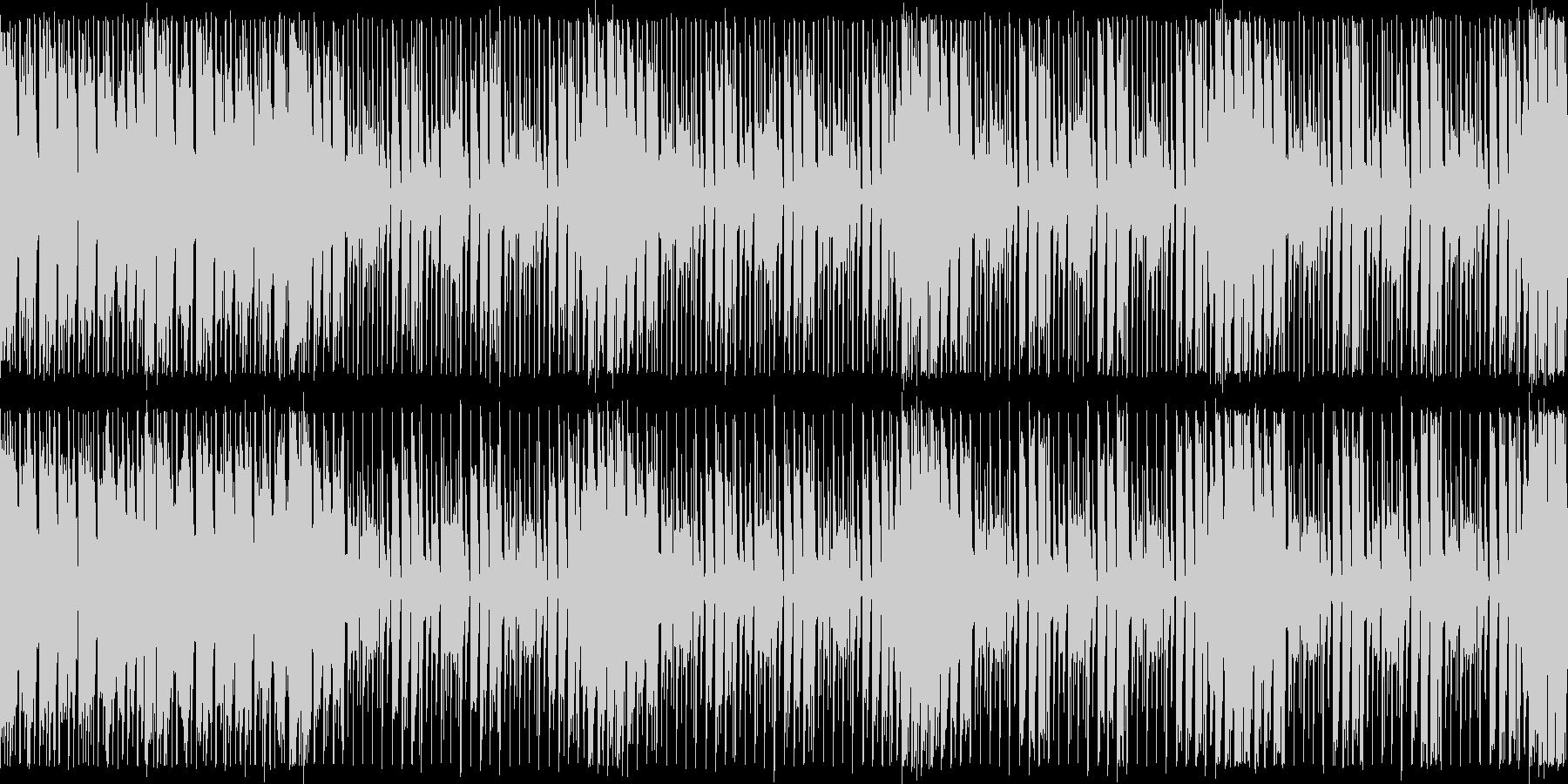 ダンスエクササイズBPM130:ループ版の未再生の波形