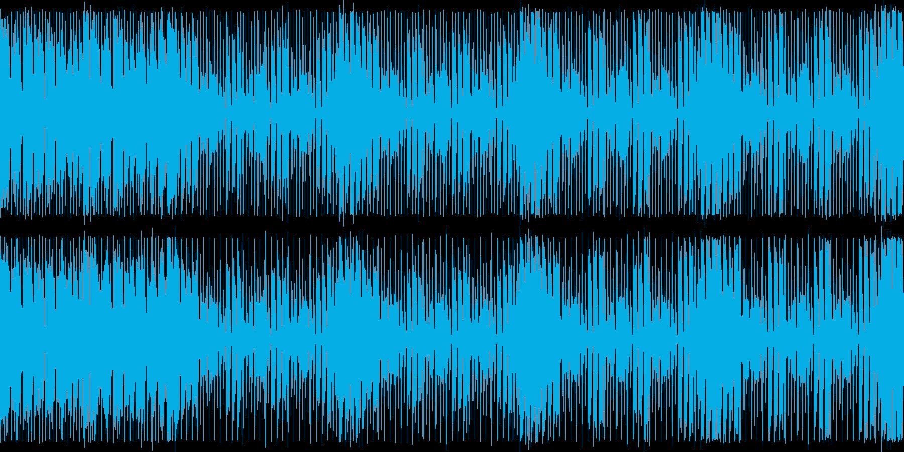 ダンスエクササイズBPM130:ループ版の再生済みの波形