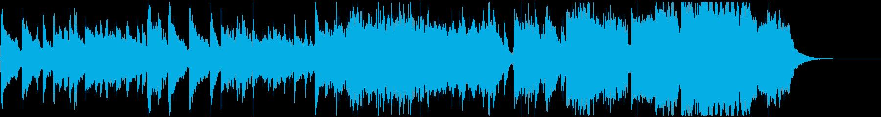 日本的な歌謡演歌ジングルの再生済みの波形