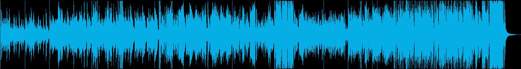 明るいテレビOP風のビッグバンドの再生済みの波形