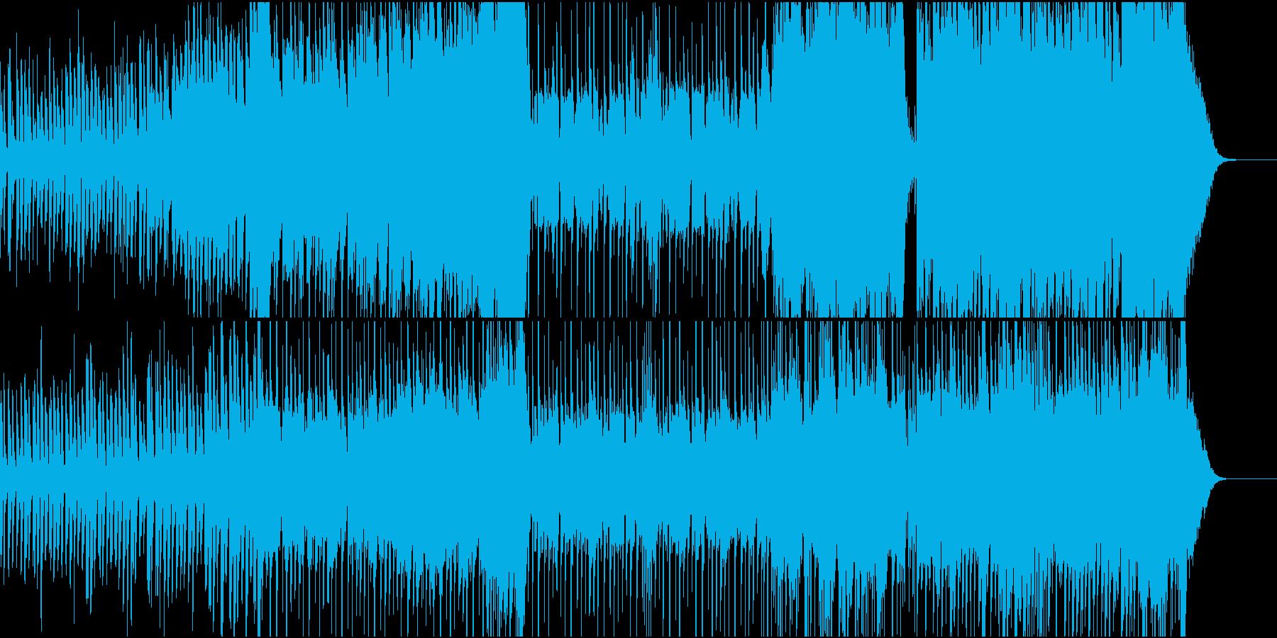 試練に立ち向かうドキュメントソングの再生済みの波形