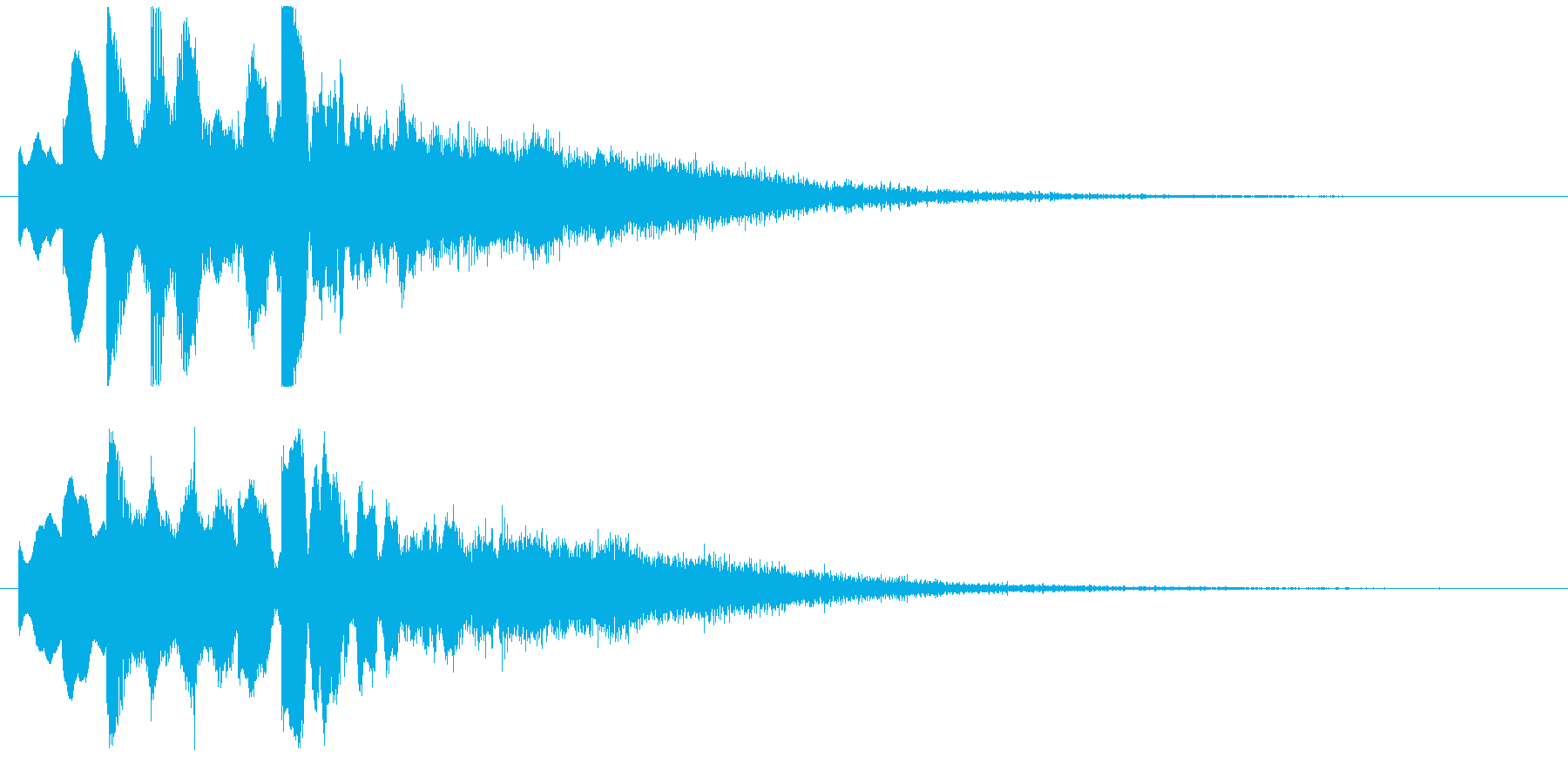 起動音 シンプル クール システムオン4の再生済みの波形