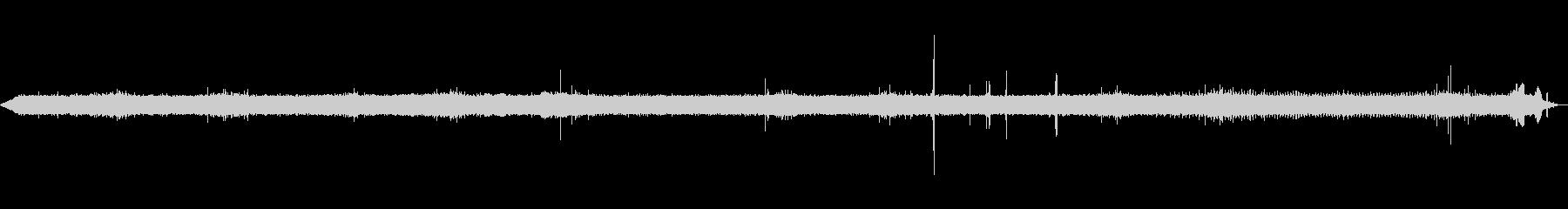 [ASMR]昆虫などが鳴いている森_07の未再生の波形