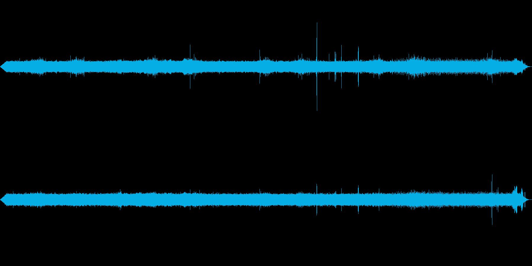 [ASMR]昆虫などが鳴いている森_07の再生済みの波形
