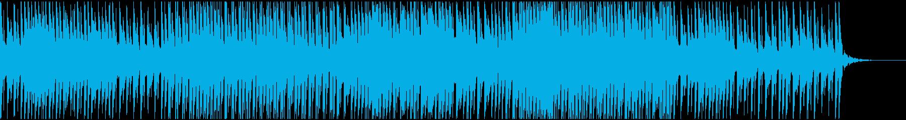 テクノ、シンセ、エレクトリック、ロング2の再生済みの波形