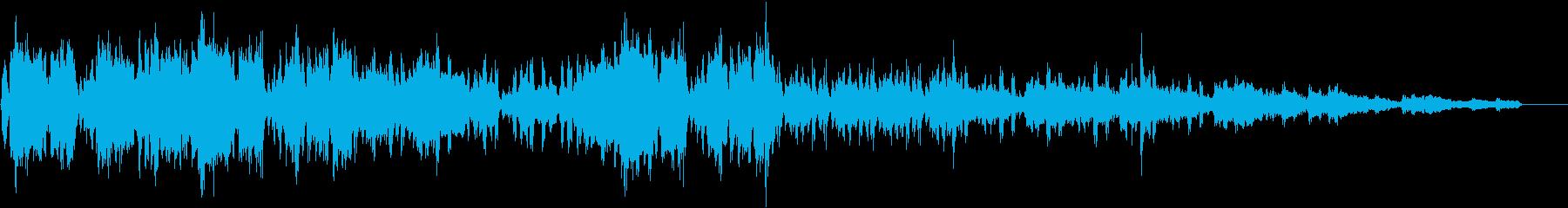 トランペットのソリッドなアシッドジャズの再生済みの波形