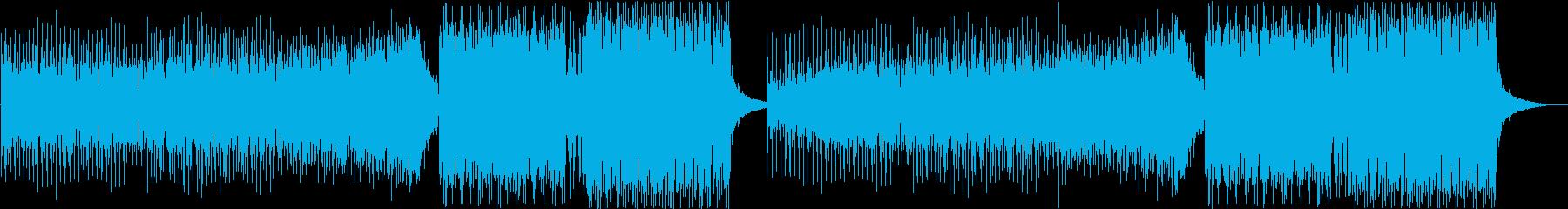 カッコイイEDMの再生済みの波形