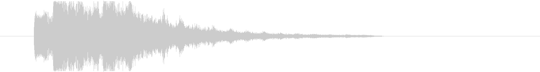不気味なアルペジオ 9の未再生の波形