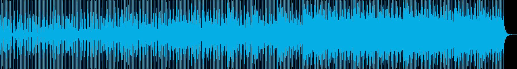 奇妙な雰囲気を感じさせるBGMです。の再生済みの波形