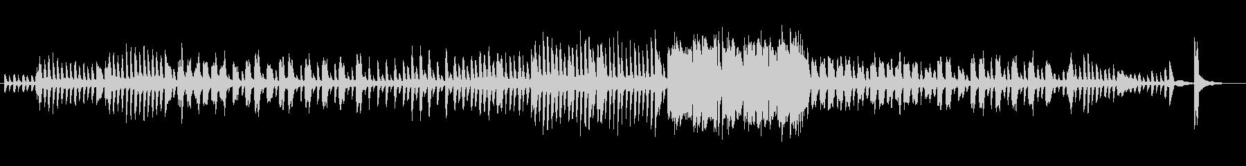 「ドワーフの行進」ショートバージョンの未再生の波形