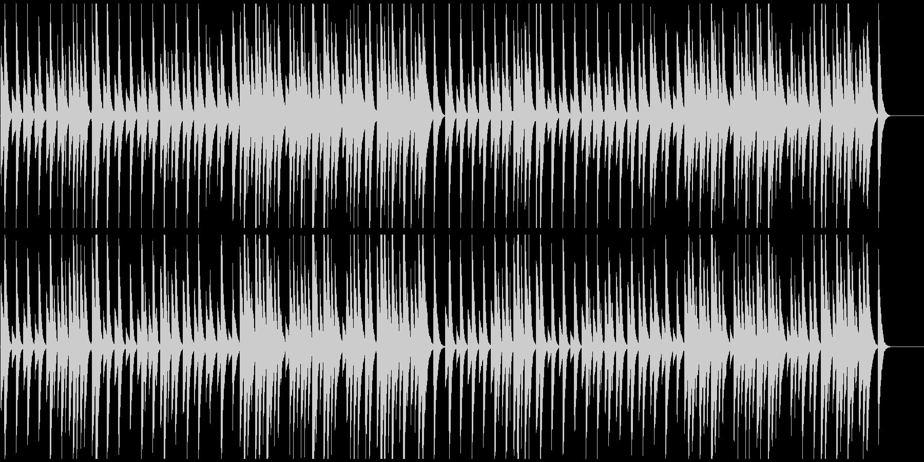 ★サティ★ジムノペディ第1番★ピアノ★Aの未再生の波形