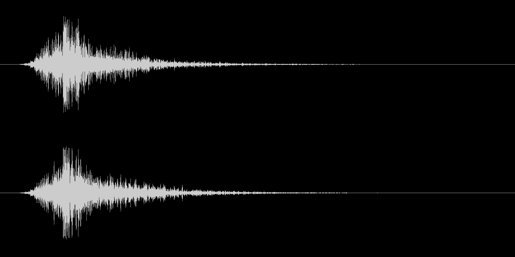 シュードーン-3(インパクト音)の未再生の波形