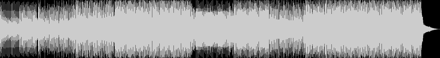 ダンスポップなBGMの未再生の波形