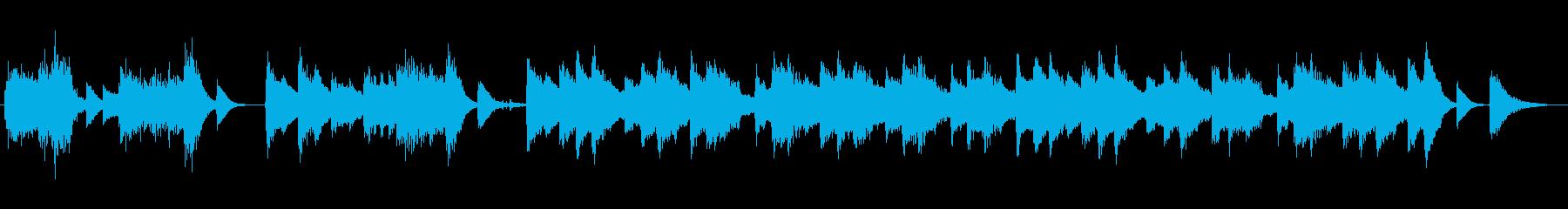 高音質♪レトロ風ピアノ曲出囃子ループの再生済みの波形