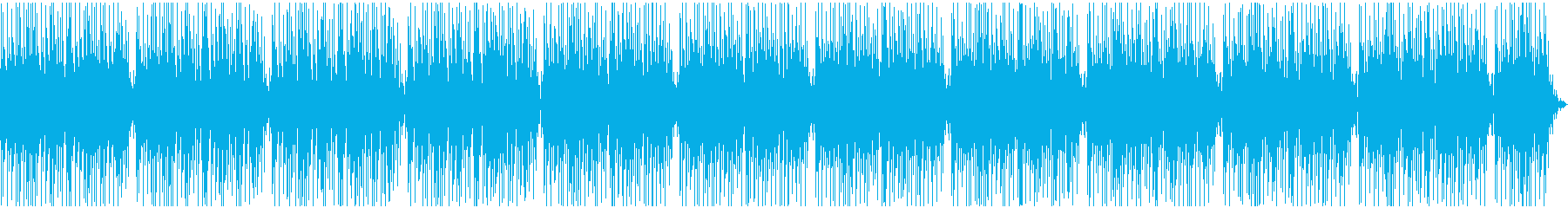 Stylish and bright guitar pops's reproduced waveform