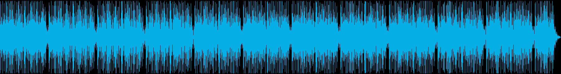 お洒落で明るいギターポップスの再生済みの波形