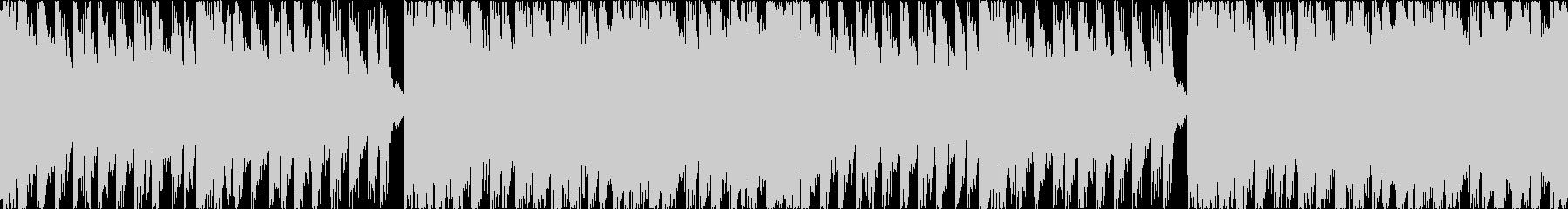 ゼルダ風戦闘曲の未再生の波形