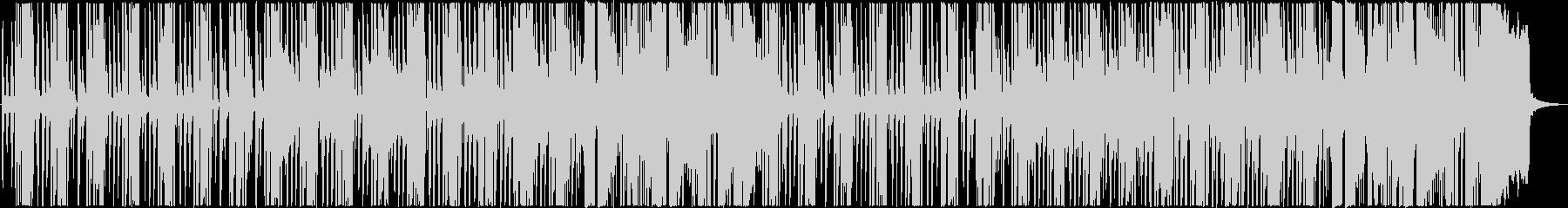 口笛×レゲエの未再生の波形
