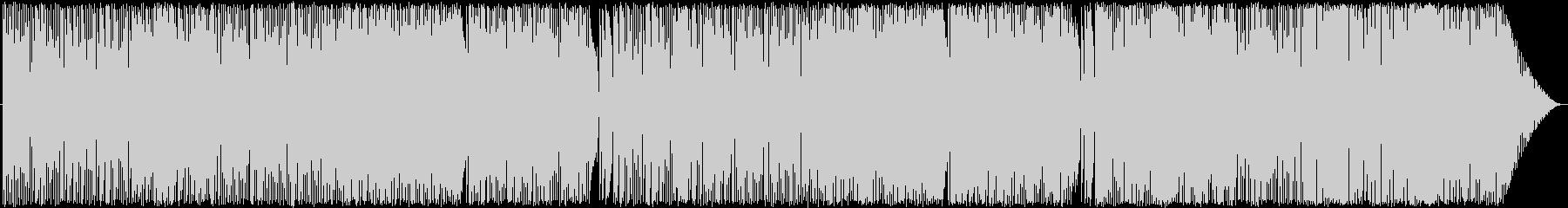 バーっぽいジャズの未再生の波形