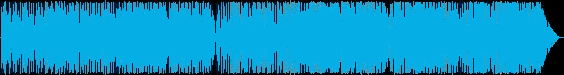 バーっぽいジャズの再生済みの波形