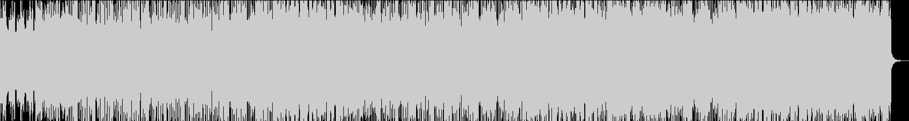 ピアノのリフが印象的な切ない雰囲気の曲の未再生の波形
