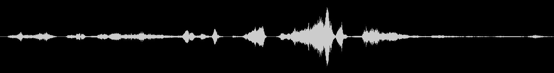 群集 トーク・カーム・クローズ03の未再生の波形