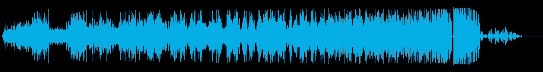ワープ突入(シュシュシュ...ボフッ)の再生済みの波形