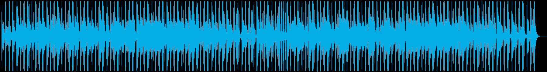 子猫、可愛いペットのイメージBGMの再生済みの波形
