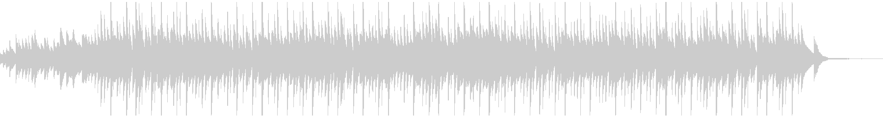 切ないピアノエレクトロニカです。の未再生の波形