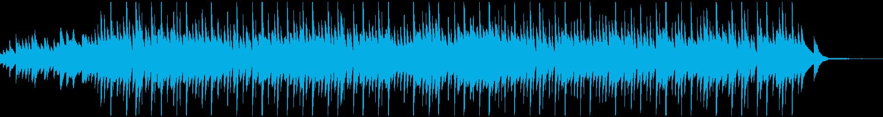 切ないピアノエレクトロニカです。の再生済みの波形